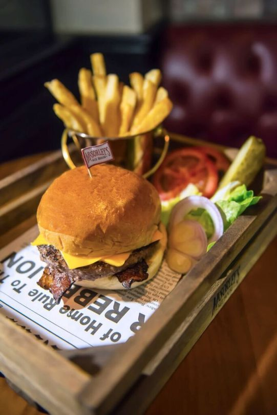 McSorleys Angus Beef Burger